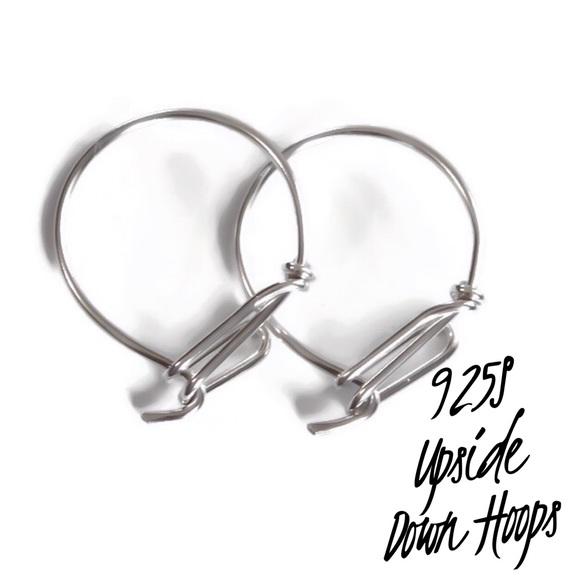 moodtherapy Jewelry - Upside down hoop earrings